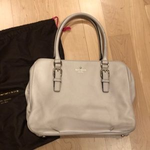 Kate Spade Vintage Cream tote satchel used